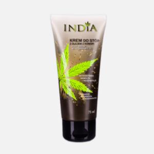 Crème protectrice pour les pieds au chanvre India pas cher