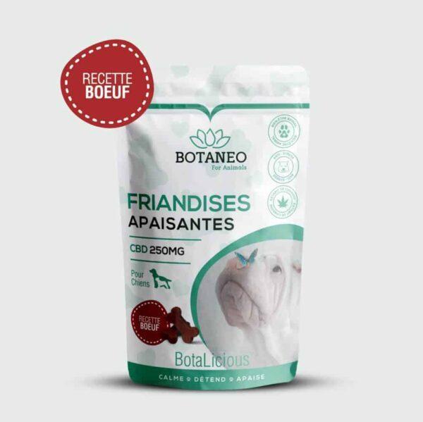 Friandis au CBD pour chien de Botalicious Botaneo au boeuf pas cher