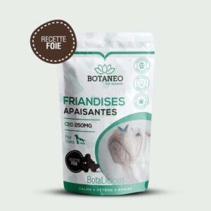 Friandis au CBD pour chien de Botalicious Botaneo au foie pas cher