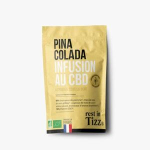 Infusion bio au CBD Piña Colada Rest In Tizz pas cher